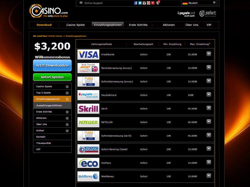 online casino willkommensbonus sofort spielen ohne anmeldung