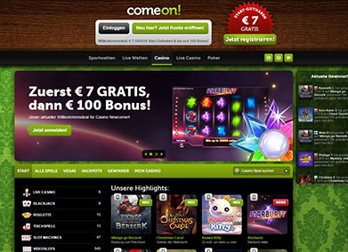 casinos wie comeon