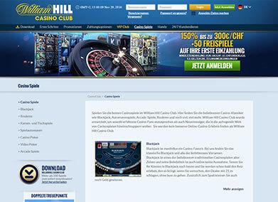 william hill online casino online spiele mit anmeldung ohne download
