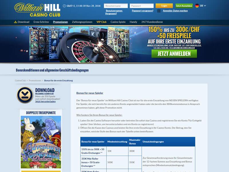william hill online casino casino deutschland