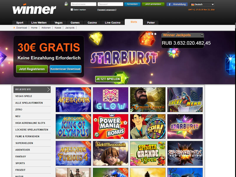 online casino winner burn the sevens online spielen