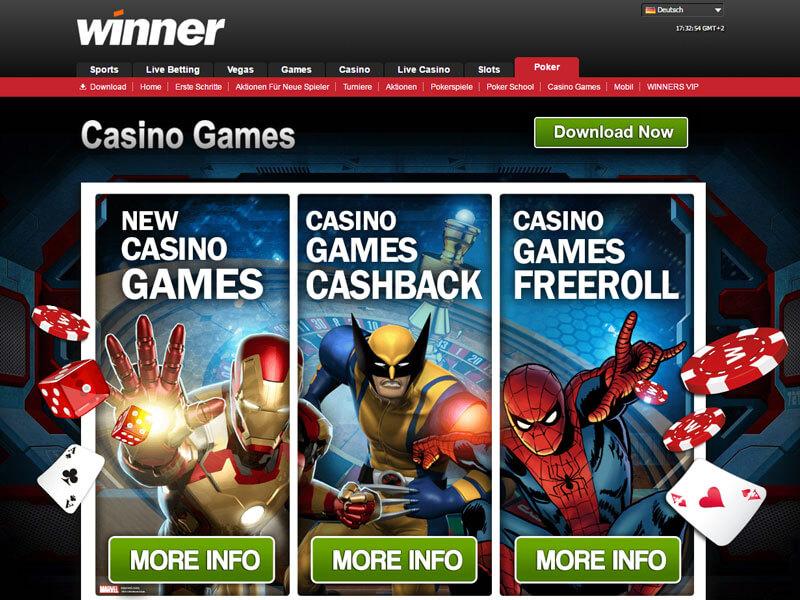 online casino winner kostenlos spielen spielen