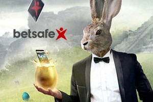 Betsafe Casino mit der Aktion Easter Egg Hunt