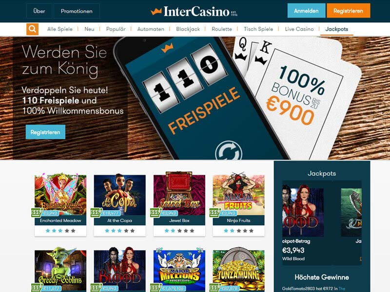 Live Casino | bis 400 € Bonus | Casino.com in Deutsch