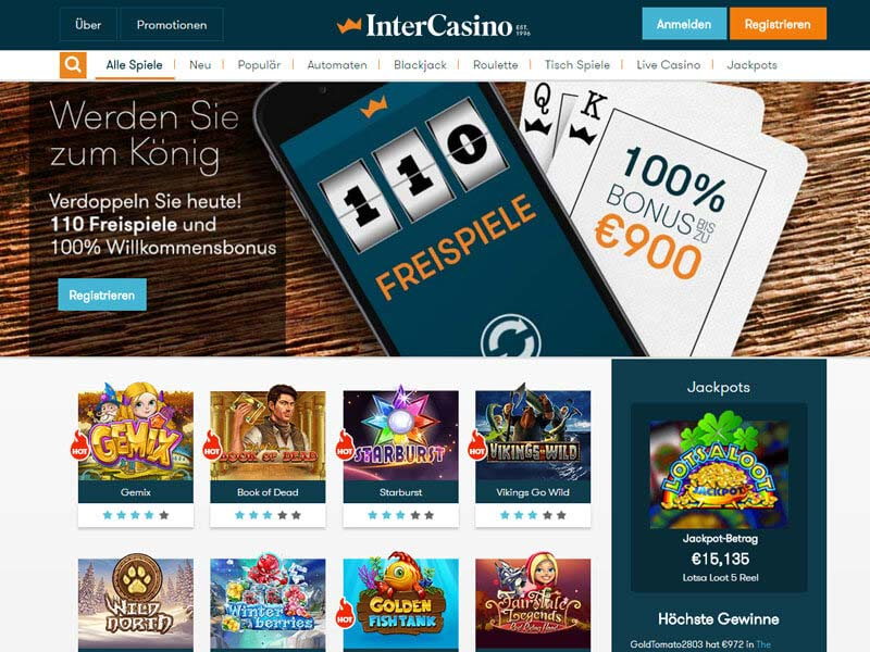 Live Blackjack | bis 400 € Bonus | Casino.com in Deutsch