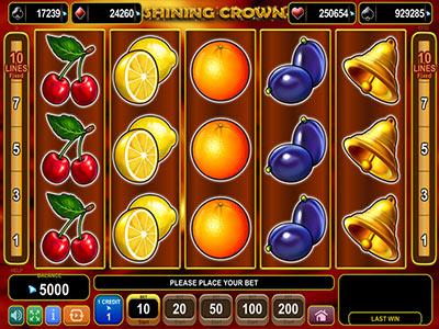 Shining Crown Spielautomat - Probieren Sie die gratis Version aus