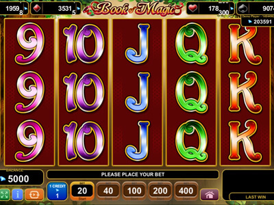 Book of Magic Slot