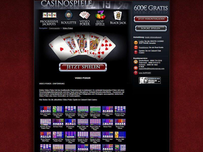 Cabaret Casino Flash