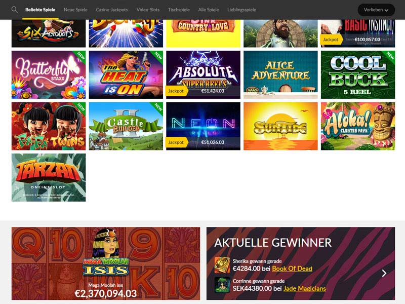 Go Wild Casino Bewertung