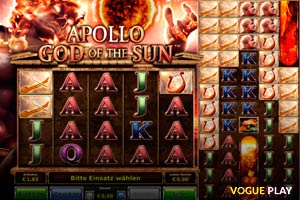 Neue Spielautomat Apollo God Of The Sun