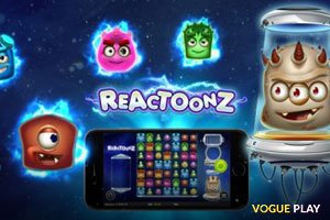 Slots Reactoonz von Play'n GO