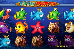 Fish Party Poker