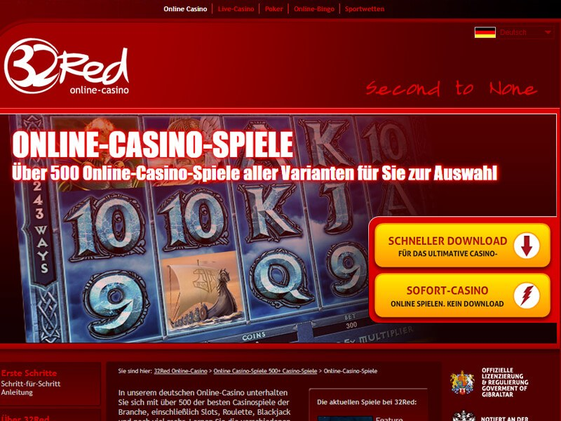 32red casino auszahlung