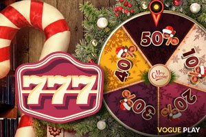 Coole Preise in der Aktion Festive Wheel of Fortune im 777 Casino