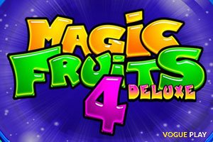 Klassisches Vergnügen am Magic Fruits 4 Deluxe Slot