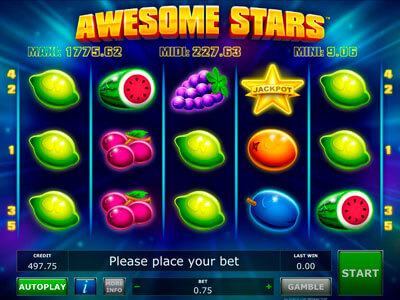 Awesome Stars Slot
