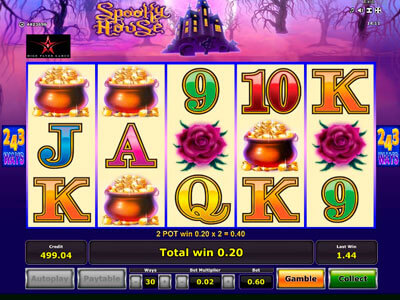 Spooky House Slot